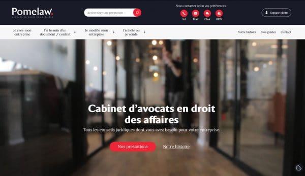 Refonte site vitrine avocat wordpress lyon